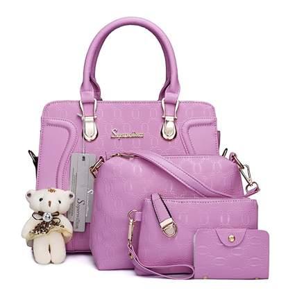 four piece handbag set