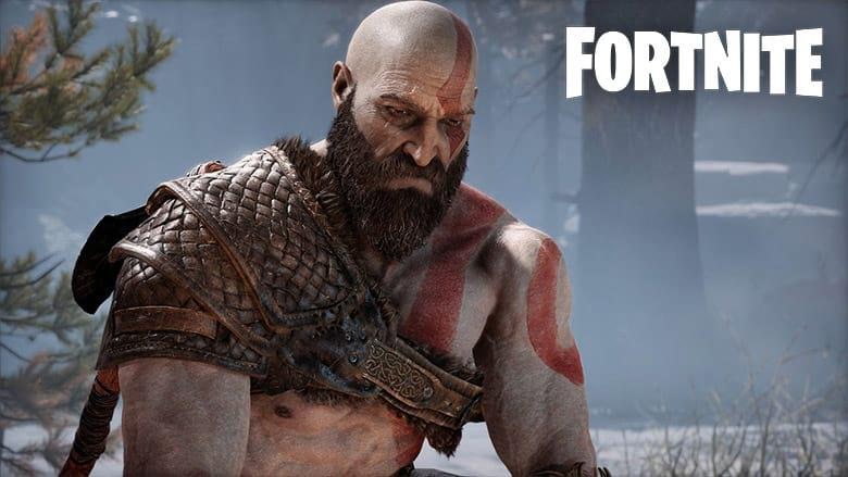 god of war kratos fortnite skin