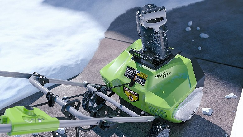 Greenworks 20-Inch 13 Amp Corded Snow Blower