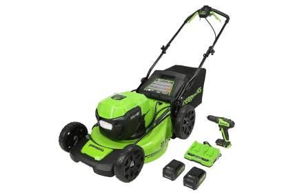 Greenworks 48V 20-Inch Brushless Self-Propelled Mower
