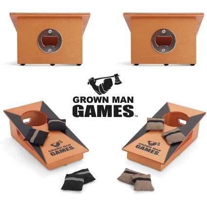 Grown Man Games Mini Cornhole