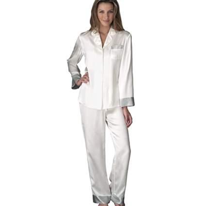 Julianna Rae Women's 100% Silk Pajamas