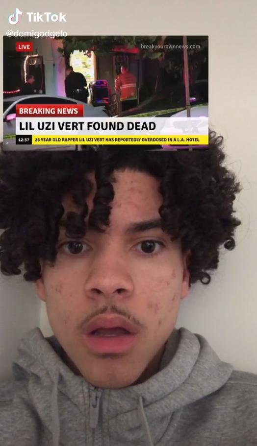 lil uzi vert death hoax
