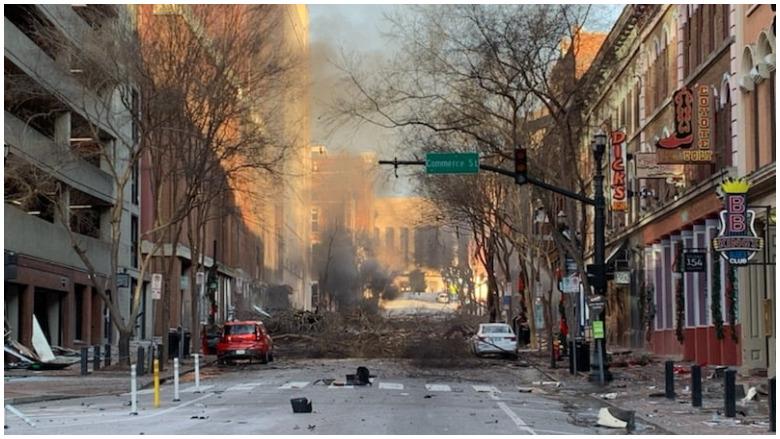 nashville explosion shots fired