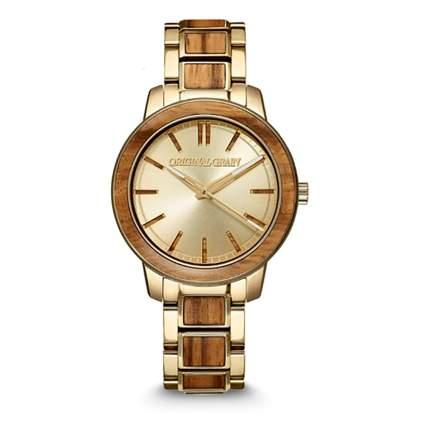 original grain wood wristwatch