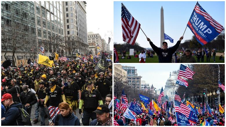 Trump MAGA March December 12 Crowd Size