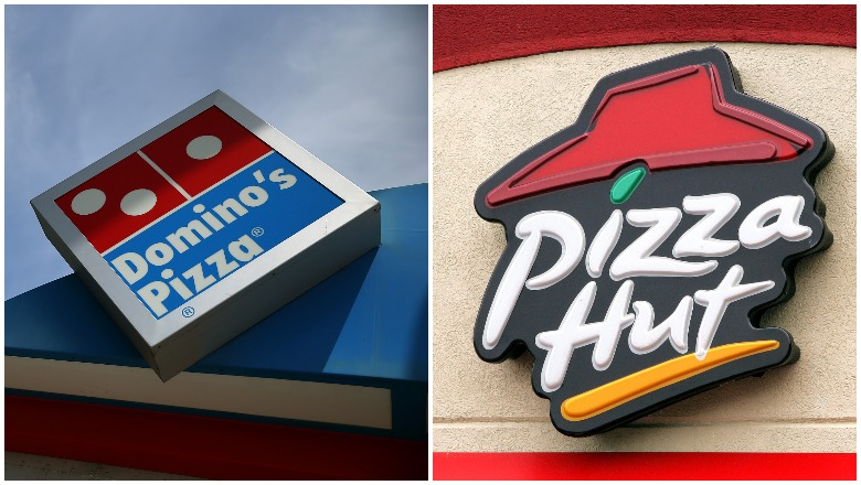Domino's and Pizza Hut on New Year's
