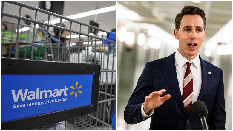 Walmart and Hawley
