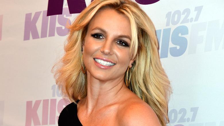 Britney Spears walks the red carpet at Wango Tango.