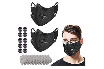 reusable face masks with filters