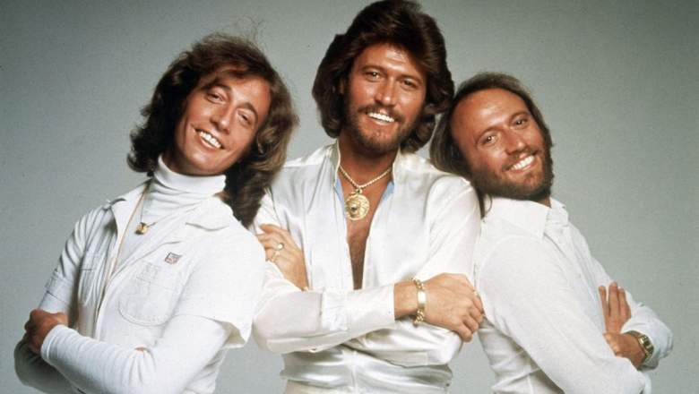 The Brothers Gibb: Robin, Barry, and Maurice, also known as The Bee Gees