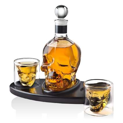 Skull Whiskey Decanter