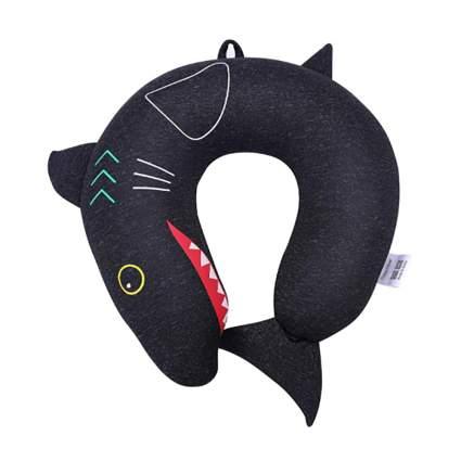 shark travel neck pillow for kids