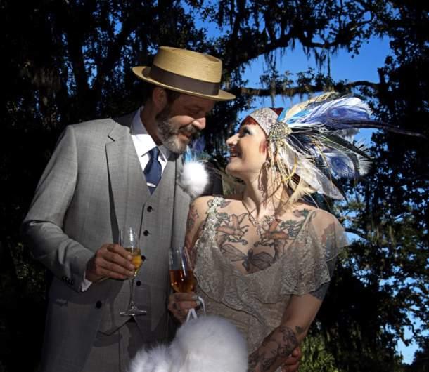 Steve Calandra and Angie Jakusz