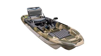 3 Waters Kayaks Big Fish 103 Pro Fish Pedal Drive Fishing Kayak