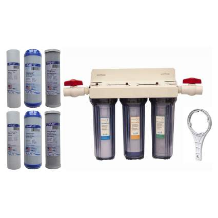 3-Stage Whole House Water Filtration System