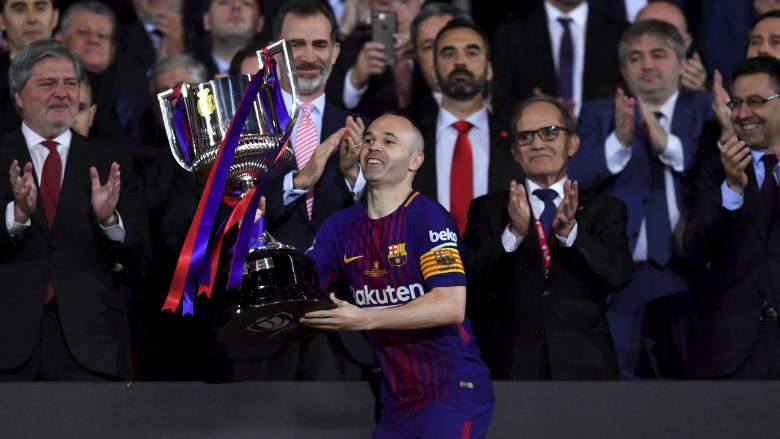 Andres Iniesta Copa del Rey