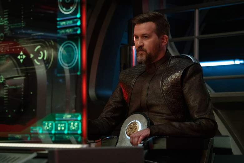 Kenneth Mitchell as Aurellio of the CBS All Access series STAR TREK: DISCOVERY