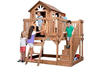 Backyard Discovery Scenic Heights All Cedar Playhouse