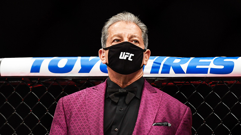 UFC Announcer Bruce Buffer