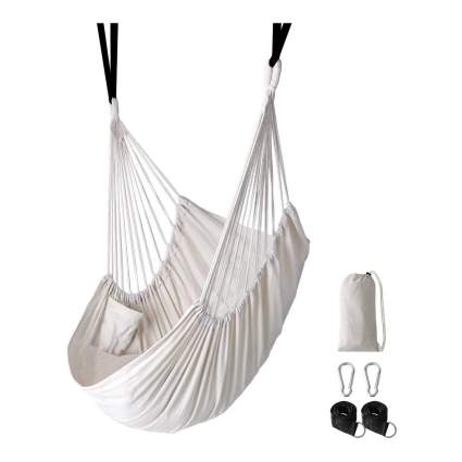 White hammock chair