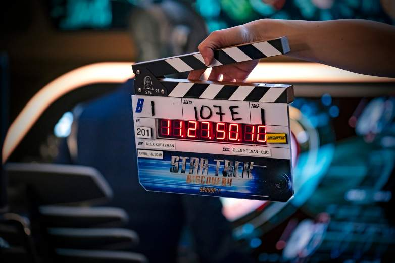 Star Trek Discovery clapper board