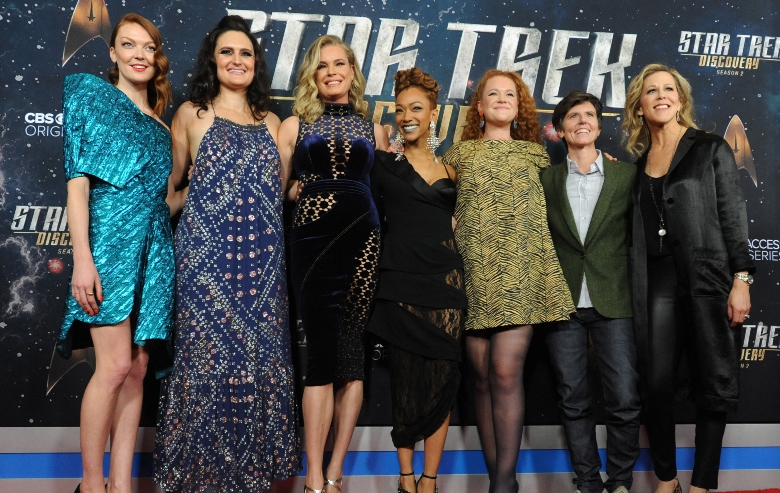 The cast of Star Trek: Discovery at the premiere