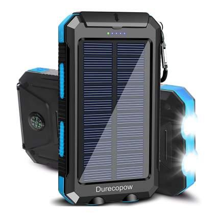 Blue solar powerbank