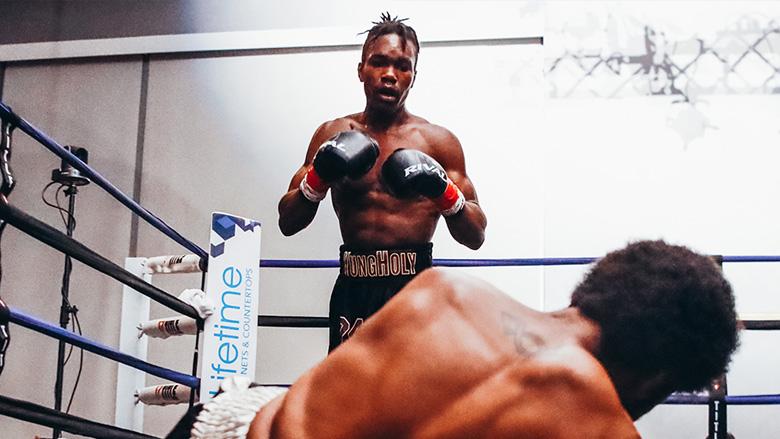Boxer Evan Holyfield