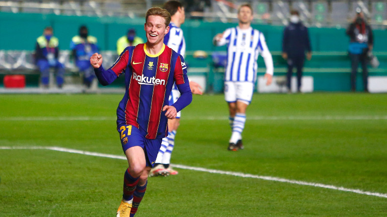 Griezmann Tees Up De Jong For Wild Barcelona Goal [WATCH]   Heavy.com
