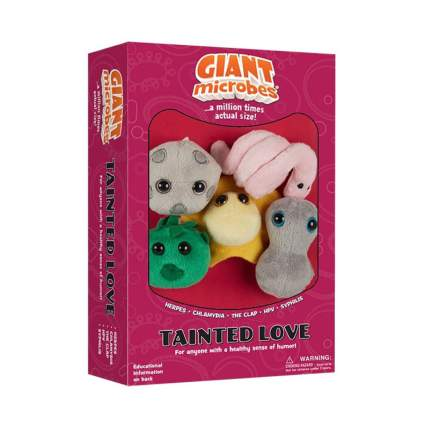 GIANTmicrobes Tainted Love plushie collection