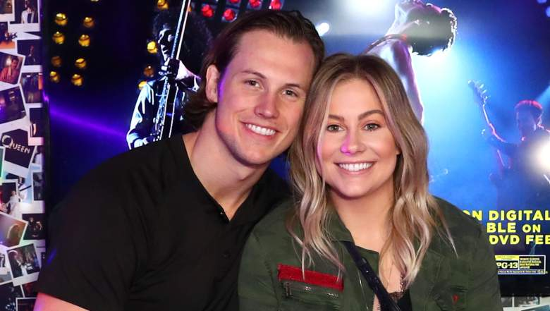 Andrew East and Shawn Johnson attend Bohemian Rhapsody's Get Loud Extravaganza at Whiskey a Go Go
