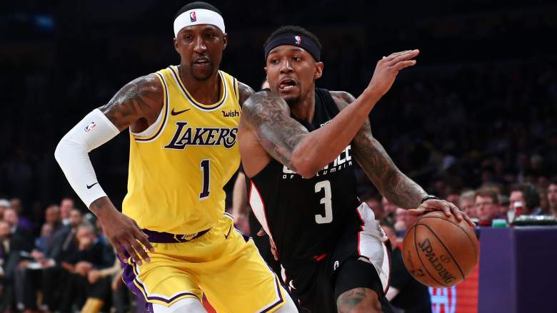 Kentavious Caldwell-Pope, left, guards Bradley Beal, one of the biggest potential prizes on the trade market.