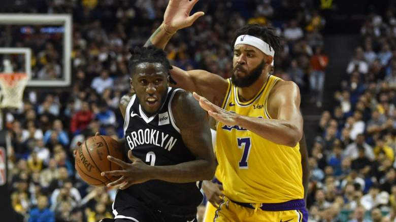 JaVale McGee, right, could be a Nets target