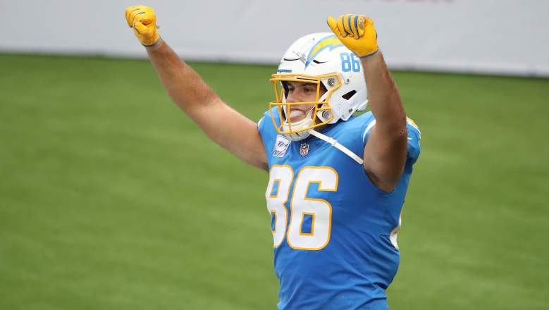 Chargers TE Hunter Henry