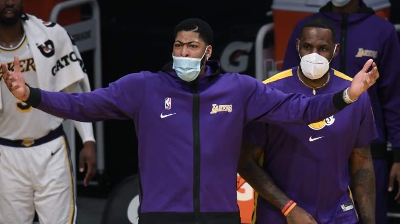 Anthony Davis, Lakers, wondering who dealt it?