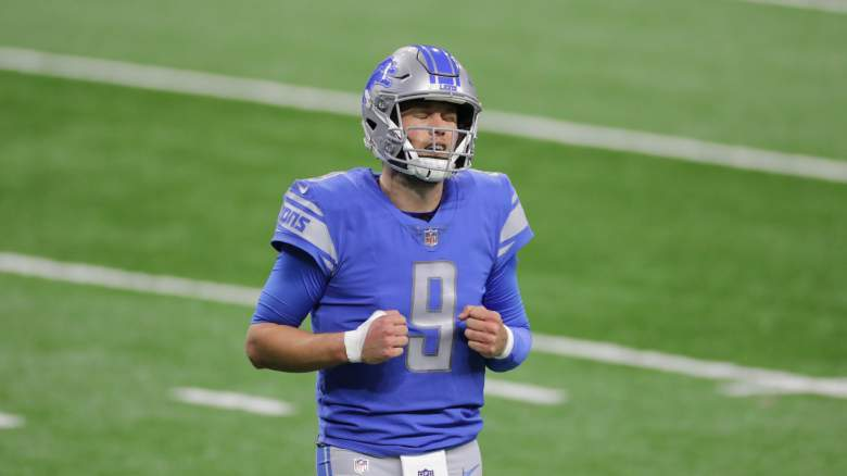 Matthew Stafford Lions Colts