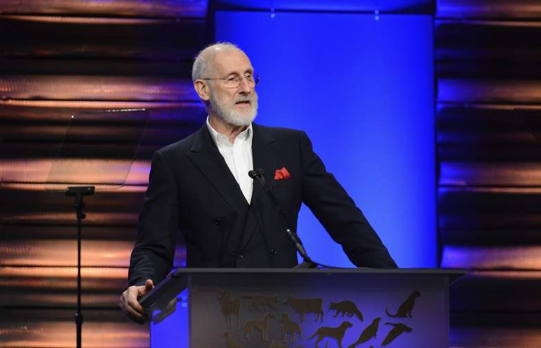 James Cromwell accepts the Lifetime Achievement Award at the Humane Society of The United States 60th Anniversary Gala at The Beverly Hilton Hotel on March 29, 2014 in Beverly Hills, California.