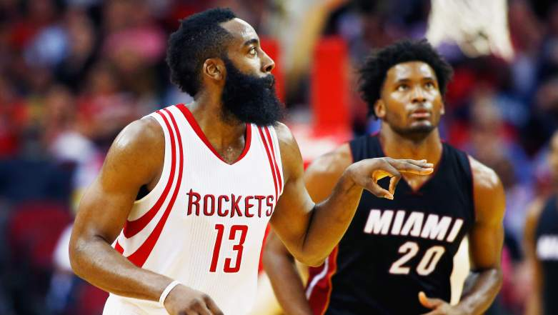 The Rockets asked an exorbitant price from Miami for James Harden