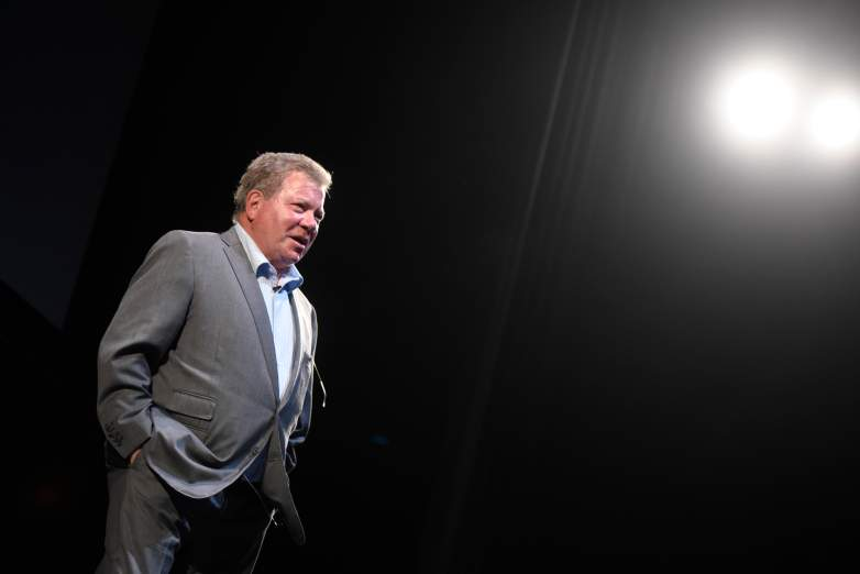 Actor William Shatner speaks during the Smithsonian Magazine's 2016 Future Is Here Festival