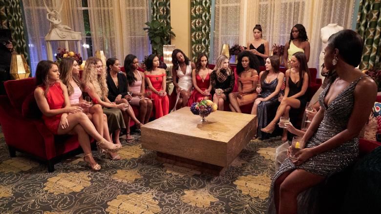 Contestants on season 25 of 'The Bachelor'