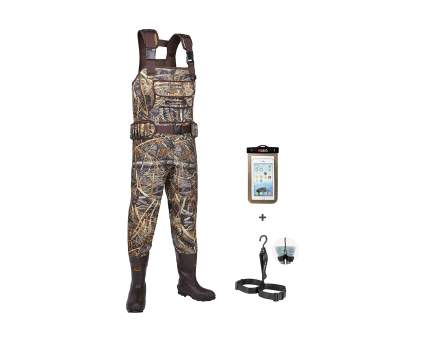 HISEA Neoprene Hunting Chest Waders with 800G Insulated Boots