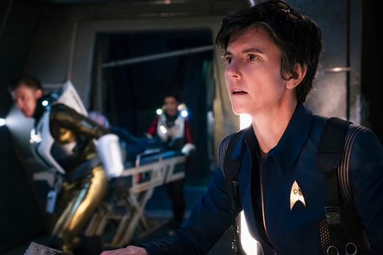 Tig Notaro as Chief Engineer Reno of the CBS All Access series STAR TREK: DISCOVERY
