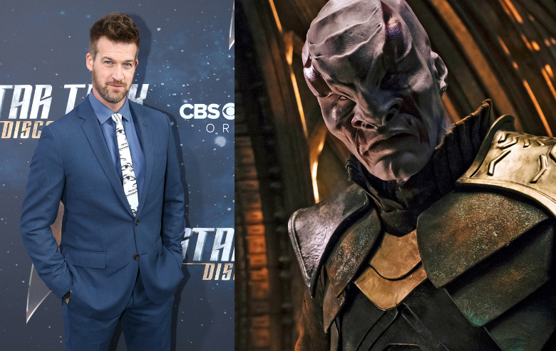 Kenneth Mitchell and his character Kol from Star Trek Discovery