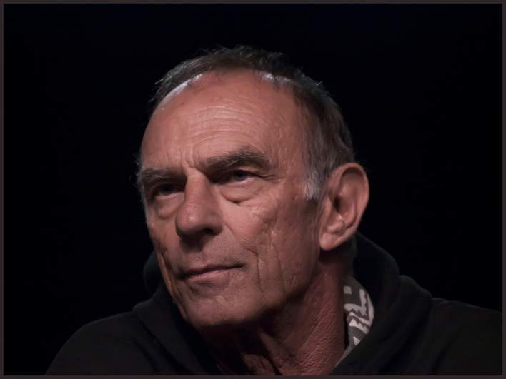 Marc Alaimo at the Star Trek convention in Las Vegas in 2009.