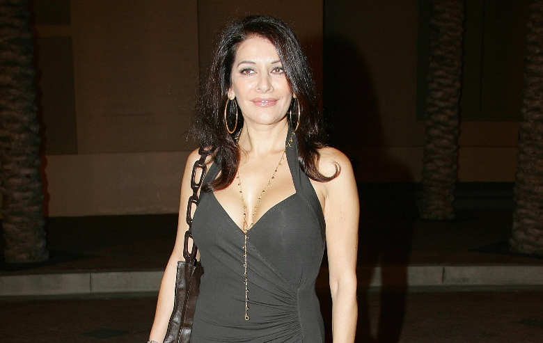 Actress Marina Sirtis arrives for the Jules Verne Adventure Film Festival & Exposition launch event, 06 October 2006 at the Shrine Auditorium
