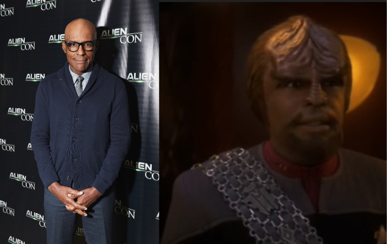 Michael Dorn and his character on Star Trek DS9 Worf