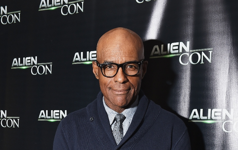 Michael Dorn attends day 2 of AlienCon Baltimore 2018 at Baltimore Convention Center on November 10, 2018