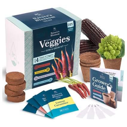 Unique veggie growing kit