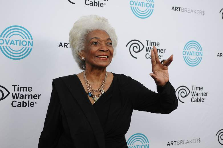 """Nichelle Nichols attends the Ovation TV premiere screening of """"Art Breakers"""" on October 1, 2015 in Los Angeles, California"""